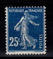 YV 140a N** Semeuse Bleu Foncé Cote 8 Euros - Nuovi