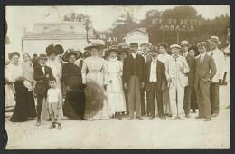 CROATIA HRVATSKA ABBAZIA OPATIJA  1911 Photograph  Atelier BETTY Old Postcard (see Sales Conditions) 01849 - Kroatië