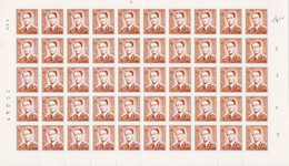 1574 - XX - ROI BAUDOUIN - 2F50 BRUN JAUNE - PL 3 - DD 8 X 71 - Full Sheets