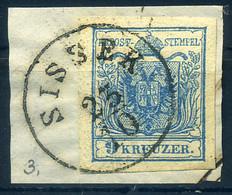 ÚJVERBÁSZ 1850. 9kr Szép Bélyegzés - ...-1867 Voorfilatelie