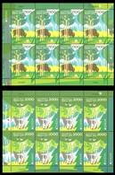 380 - Belarus - 2011 - Europa - Forests - 2 Sheetlets Of 8v - MNH - Lemberg-Zp - Belarus