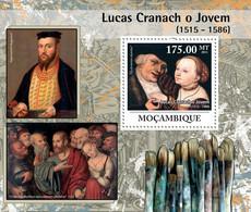 Mozambique 2011 MNH - Lucas Cranach - Paintings. Yvert & Tellier: 397,  Michel: 4483/Bl.435,  Scott: 2249 - Mozambique