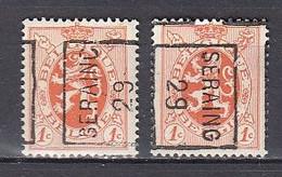 4975 Voorafstempeling Op Nr 276 - SERAING 29 - Positie A & B - Roller Precancels 1920-29