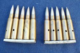 Lot Clips Mas 36 Et 24-29 - 1930 Et 31 - Decorative Weapons