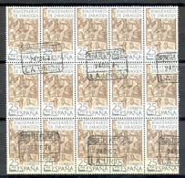 Oblitéré - Espagne, Spain, Espana - 1976 Y&T 1967 Mi 2214 - Bimilenario De Zaragoza, Mosaique D'Orféo, Musique - (2) - 1971-80 Usados