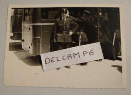 Photo Ancienne Police Parisienne Policier En Tenue Uniforme - Beroepen