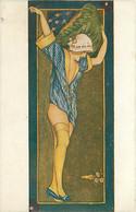 Xavier SAGER , Paresseuses , Noyer N° 502 , * 394 89 - Sager, Xavier
