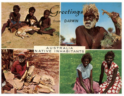 (BB 18) Australia - Aboriginal - Native Habitant  (Darwin) With Stamp (posted 1967 ?) - Aborigines