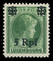 BES. 2WK LUXEMBURG Nr 19 Postfrisch X82AE56 - Occupazione 1938 – 45