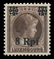 BES. 2WK LUXEMBURG Nr 21 Postfrisch X82AEBE - Occupazione 1938 – 45