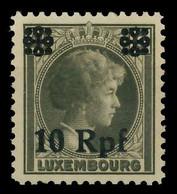 BES. 2WK LUXEMBURG Nr 22 Postfrisch X82AEFE - Occupazione 1938 – 45