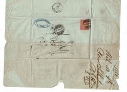 CTN64 - SUISSE HELVETIA ASSISE 10c LSC BALE / GENEVE 12/10/1868 - Unclassified