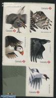 Canada 2016 Birds 5v S-a, (Mint NH), Birds - Owls - Birds Of Prey - Nature - Ungebraucht