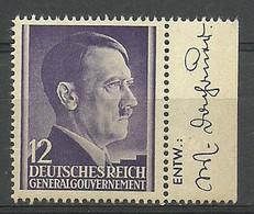 General Gouvernement/GG 1941 Mi 75 Fi 75 MNH ( LZE5 GGBmar75d ) - Other