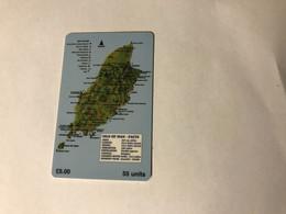 6:360 - Isle Of Man Chip Map - Isla De Man