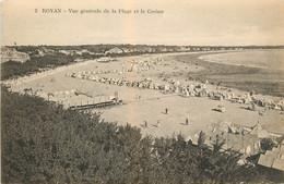 CPA Royan-Vue Générale De La Plage Et Le Casino    L150 - Royan