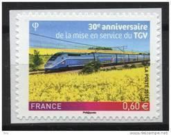 N° 603 Adhésif , TGV Valeur Faciale 0,60 Euro; Issu D'une Feuille - Luchtpost