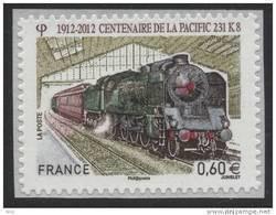 N° 711 , Centenaire De La Pacific  Valeur Faciale 0,60 € - Luchtpost