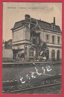 Diksmuide ... Oorlog 14-18 - Bahnhof , Vom Feinde Zerstört - Duitse Postkaart - Feldpost 1916 ( Verso Zien ) - Diksmuide