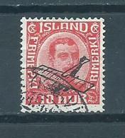 1928 Iceland Luchtpost,overprint Used/gebruikt/oblitere - Gebruikt