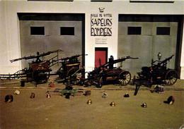 Musée Des Sapeurs Pompiers De VITTEL  Place Des Francs  Recto Verso - Vittel Contrexeville