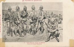Boer War Journal Illustration Transvaal Art Card . British Before The Fight . - Sudáfrica
