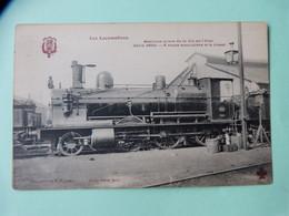 342-83 - LES LOCOMOTIVES - MACHINE MIXTE DE LA Cie De L'ETAT SERIE 3000 - 6 ROUES ACCOUPLEES ET A BISSEL CHATEAU-DU-LOIR - Materiaal