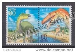 Japan - Japon 1999 Yvert 2515-16, Dinosaurs - MNH - Unused Stamps