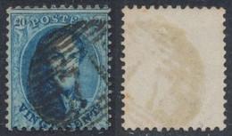 """Médaillon Dentelé - N°15 Obl P71 """"Lessines"""" / Perception, Dentelure Non Vérifiée. - 1863-1864 Medaglioni (13/16)"""