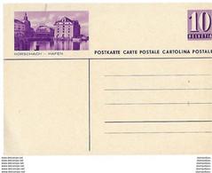 8 - 37 - Entier Postal Neuf Avec Illustration Rorschach - Hafen - Enteros Postales