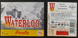 Etiketten 3c7 Waterloo Récolte Brewery Mont-Saint-Jean - Beer