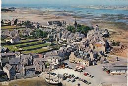 Finistère : ROSCOFF : Vue Aérienne : Vue Générale, Au Loin L' île De Batz : C. P. S. M.- M. - Roscoff