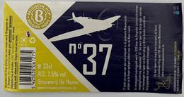 Etiketten 3e1 Nr 37 Brewery De Hazen - Beer