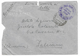 DA P.M.202 ( OSPEDALE DA CAMPO N.880 ) A FABRIANO - 21.0.1942 - UFF.SPROVVISTO DI BOLLI.. - Militaire Post (PM)