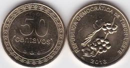 Timor - 50 Centavos 2013 UNC Lemberg-Zp - Timor