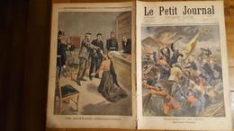 LE PETIT JOURNAL SUPPLEMENT ILLUSTRE 13 JANVIER 1901 EVENEMENTS DE CHINE UNE VICTOIRE FRANCAISE - Le Petit Journal