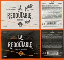 Etiketten 3e9 La Redoutable  Brewery Bruno De Ghorain - Beer