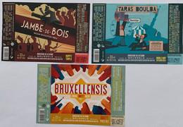 Etiketten 3 H8b Mixed  Brewery Brasserie De La Senne - Beer