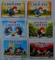 Etiketten 1a1 Chouffe Brewery Brasserie D'Achouffe - Beer