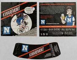 Etiketten 3i4 Kwaremont Brewery De Brabandere - Beer