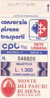 CPT CONSORZIO PISANO TRASPORTI CORSA SEMPLICE - Europe