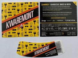 Etiketten 3j5 Liereken Brewery De Brabandere - Beer
