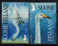2019 Finland, Europa Cept, The Whooper Swan, Complete Used Set. - Gebruikt
