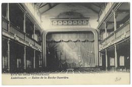 Belgique - LODELINSART - 1 CP - Théâtre Salon De La Ruche Ouvrière - Charleroi