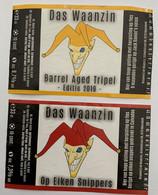 Etiketten 3k7 Das Waanzin Brewery De Waanzin - Beer