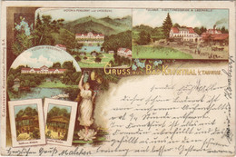 CPA AK Gruss Aus BAD KRONTHAL I. TAUNUS LITHO GERMANY (804584) - Other