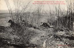 - Sur Le Front ( Destruction D'un Réseau De Fil De Fer Barbelé ) - - Guerra 1914-18