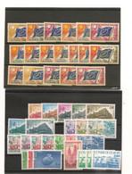 FRANCE CONSEIL DE L'EUROPE ANNÉE 1958/87 NEUFS ** M.N.H Côte : 59,40 € - Ungebraucht