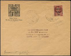 TIMBRES DE LIBERATION - Let. SAINTE FOY LA GRANDE 2 : 1f50 Brun-rouge, T II, Obl. Càd 2/11/44 S. Env., TB Cote : 450 - Liberazione