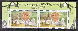 France Nouveauté Ballon Monté Le Nept  2020 Haut De Feuille (feuille De 10) Neuf ** TB MNH Sin Charnela Faciale 9.2 - 1960-.... Nuovi